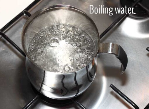 What temperature does water boil?